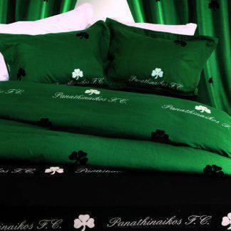 b3d976ea9c5 Palamaiki Σετ 2Τμχ Κουβερλί Ημίδιπλο Official Team Licenced 170X250 Green  PANATHINAIKOS 1006